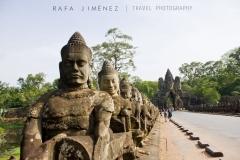 Entrada a Angkor Thom