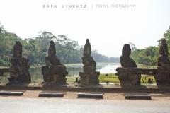Puente en Angkor Thom