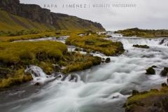 Cascada en Islandia