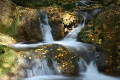 Cascada del Hueznar en otoño